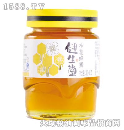健生堂桂花蜂蜜300g