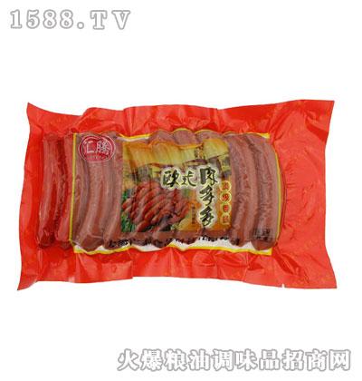 欧式肉多多顶级香肠