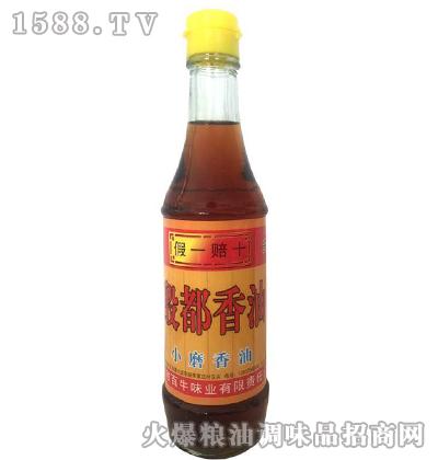 殷都小磨香油(瓶装)