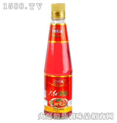 九味佳大红浙醋450ml