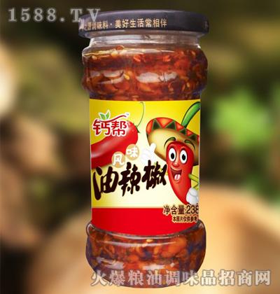 钙帮风味油辣椒238g
