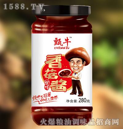 甄牛劲爆香菇酱280g