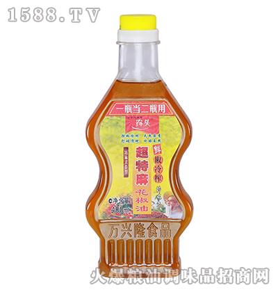 农头超特麻花椒油400ml