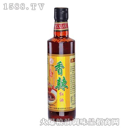 万兴隆香辣红油410ml