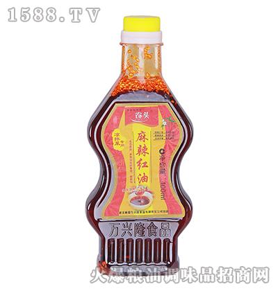 农头麻辣红油400ml