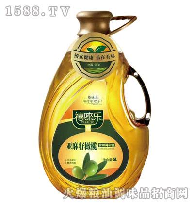 禧��乐亚麻籽橄榄油5L