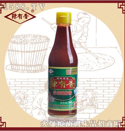 陈有香蒜蓉辣椒酱300g