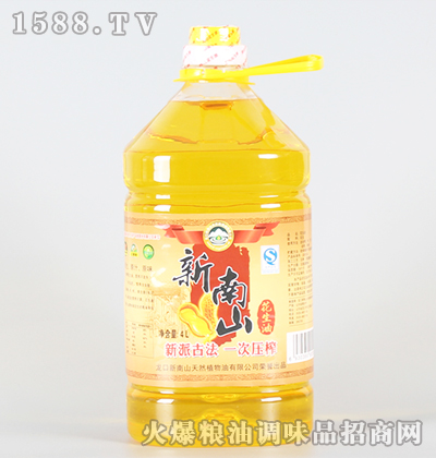 花生油4L-新南山