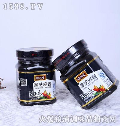 纯黑芝麻酱260g-杨三友