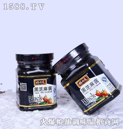 纯黑芝麻酱300g-杨三友