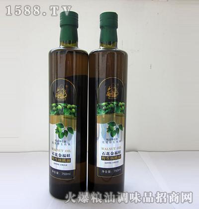 野生核桃油小瓶-石花金福娃