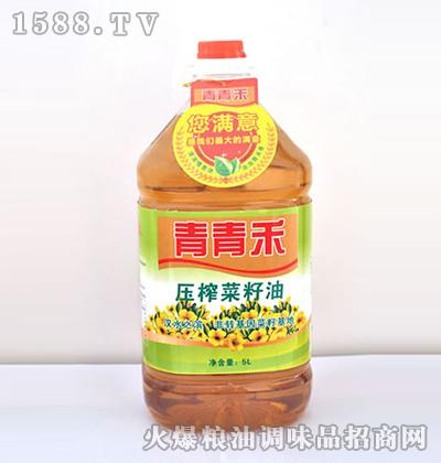 压榨菜籽油-青青禾牌