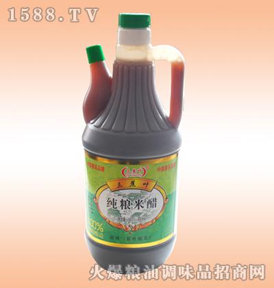 纯粮米醋800ml-三蕉叶