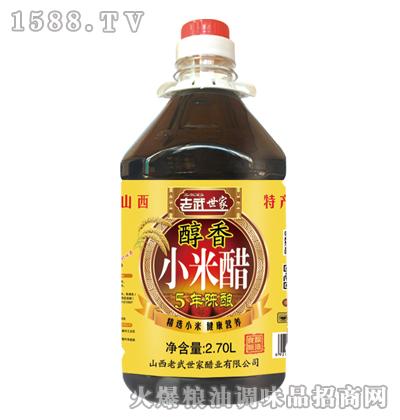 老武世家-醇香小米醋2.7L