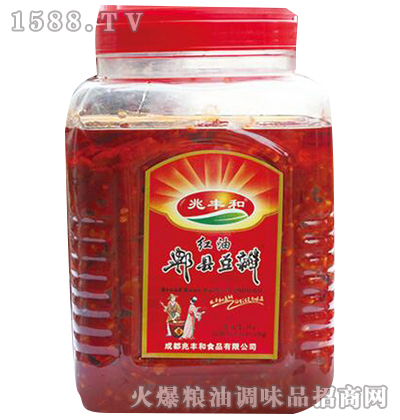 红油郫县豆瓣酱3kg-兆丰和
