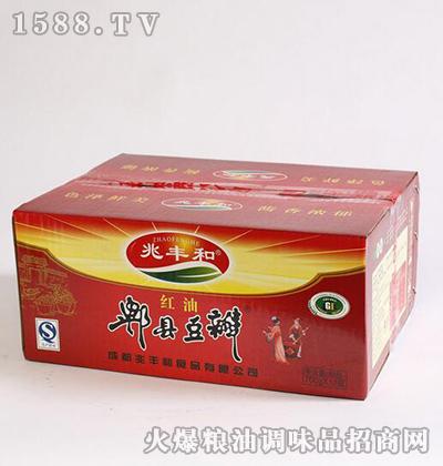 红油郫县豆瓣箱700g-兆丰和