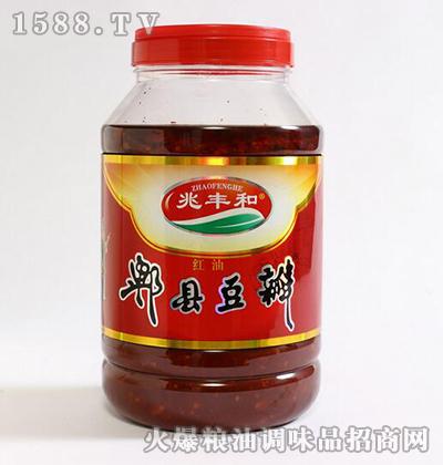 郫县豆瓣酱4kg-兆丰和