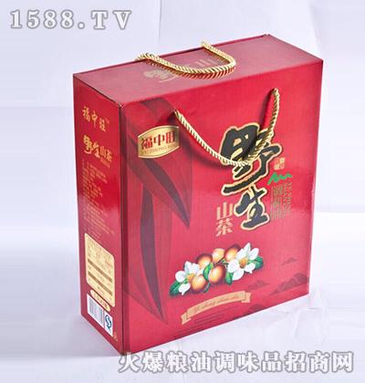 野生山茶调和油礼盒-福中旺