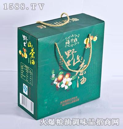 野生山茶调和油绿盒-福中旺