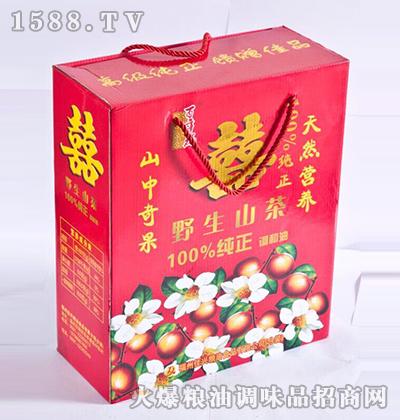 野生山茶调和油红盒-福中旺