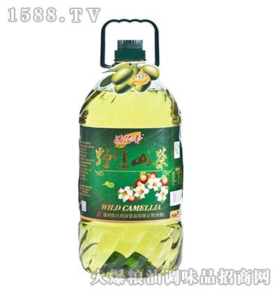 野生山茶调和油5L-满添香