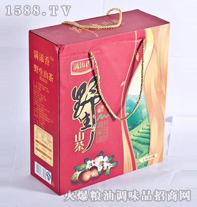 野生山茶调和油1.8Lx2-满添香