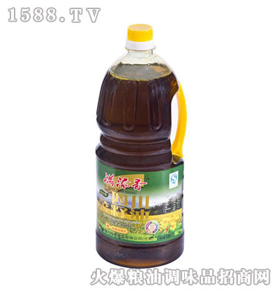 四川菜籽油1.8L-满添香