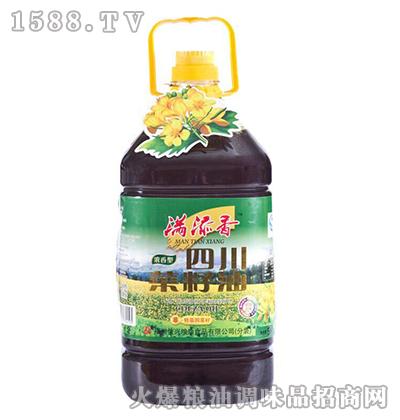 四川菜籽油5L-满添香