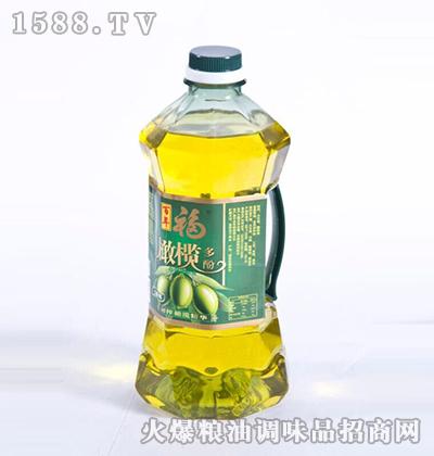橄榄多酚食用调和油-百年福