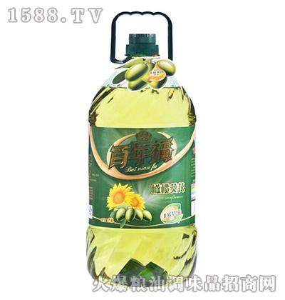 橄榄葵花食用调和油-百年福