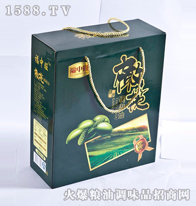 橄榄调和油礼盒-福中旺