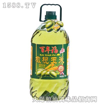 橄榄玉米油5L-百年福