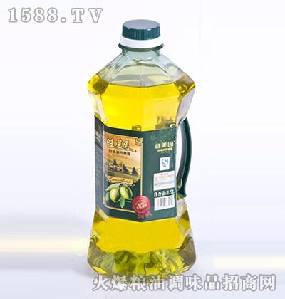 特级初榨橄榄油1.5L-旺美园