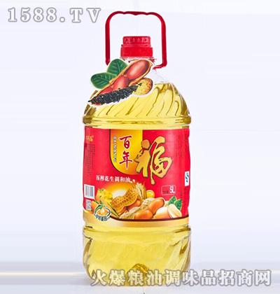 花生调和油5L-百年福