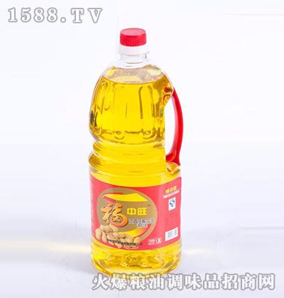 浓香压榨花生调和油1.8L-福中旺