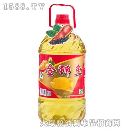 花生食用调和油5L-金狮鱼