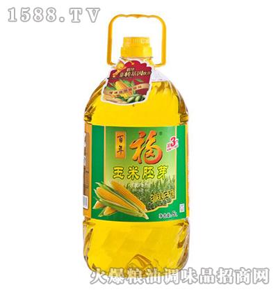 玉米胚芽调和油5L-百年福