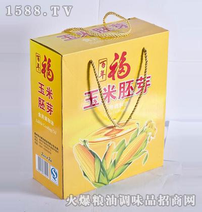 玉米胚芽油礼盒-百年福