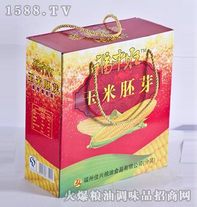 玉米胚芽油礼盒-福中旺