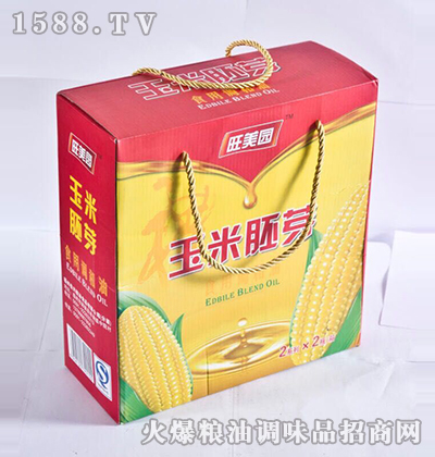 玉米胚芽调和油礼盒-旺美园