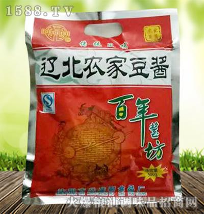 农家豆酱500克-辽北牌