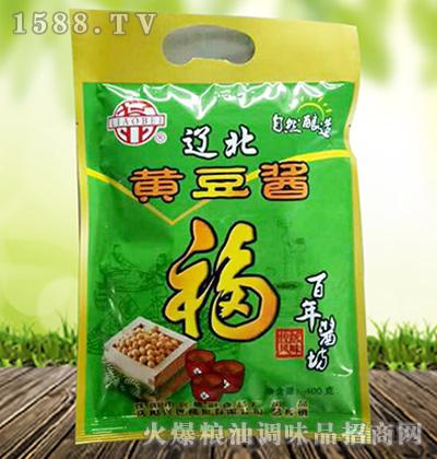 福黄豆酱400克-辽北牌