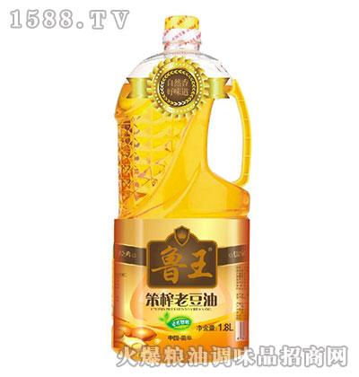 笨榨老豆油1.8L-鲁王