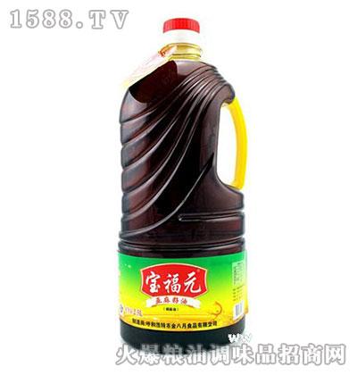 小磨压榨亚麻籽油2.5L-宝福元