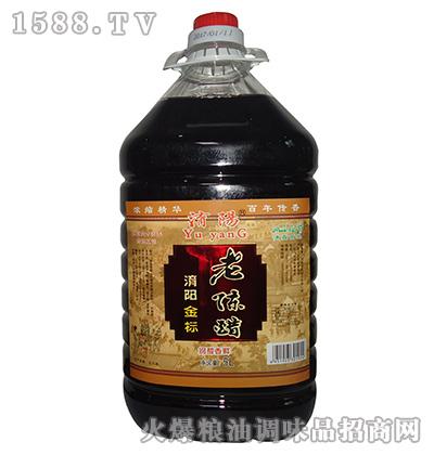 金标老陈醋5L-�U�