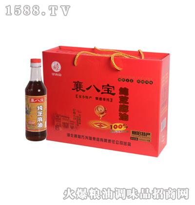 纯芝麻油(礼盒)380ml-襄八宝