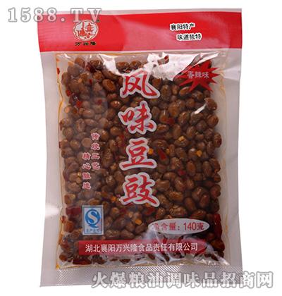 风味豆豉(香辣味)140克-万兴隆