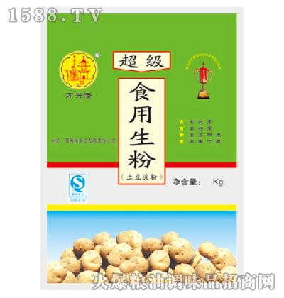 超级土豆生粉2千克-万兴隆