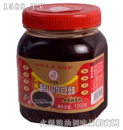 香辣野山椒豆豉(百变好底料)1千克-万兴隆