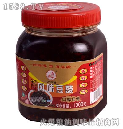 渗香风味豆豉(口碑相传)1千克-万兴隆